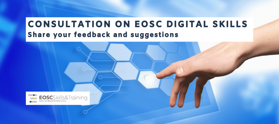 Consultation on EOSC Digital Skills