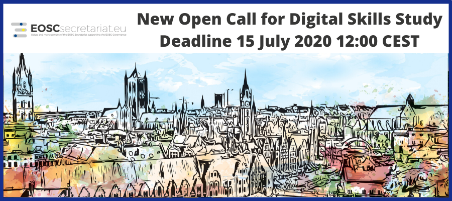 5th Open Call launches with digital skills study for Skills & Training WG