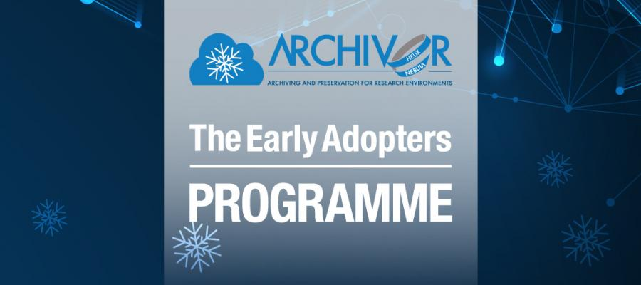 Procurement in the EOSC: Archiver's Early Adopters Programme
