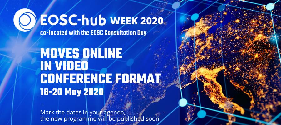 EOSC-hub Week 2020 goes virtual