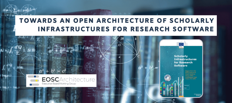 Towards an open architecture of scholarly infrastructures for research software