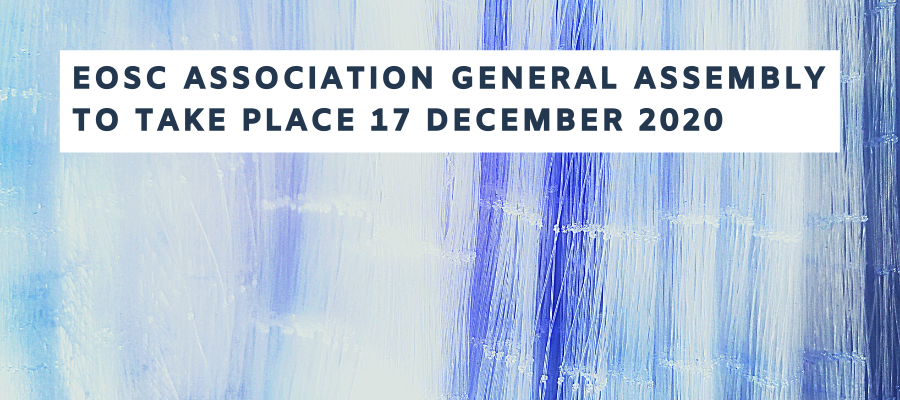 EOSC Association General Assembly to Take Place Tomorrow