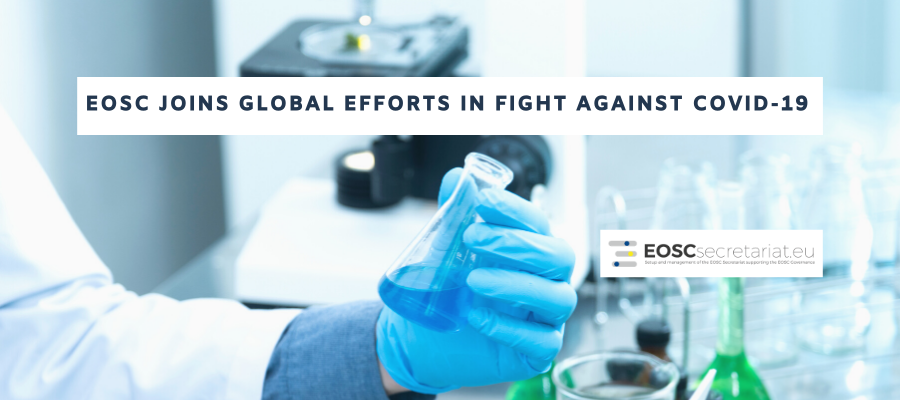 EOSC joins global research efforts in fight against COVID-19