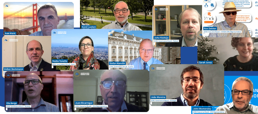 Implementing the European Open Science Cloud - A message from the EOSC Governance