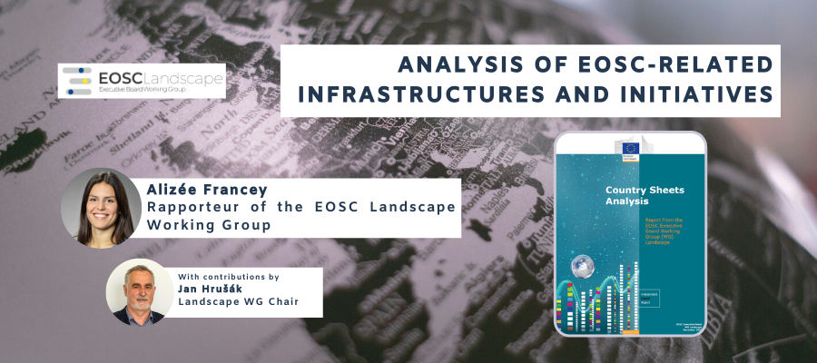 Analysis of EOSC-Related Infrastructures and Initiatives - Official publication online!