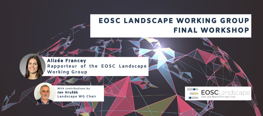 EOSC Landscape Working Group Final Workshop