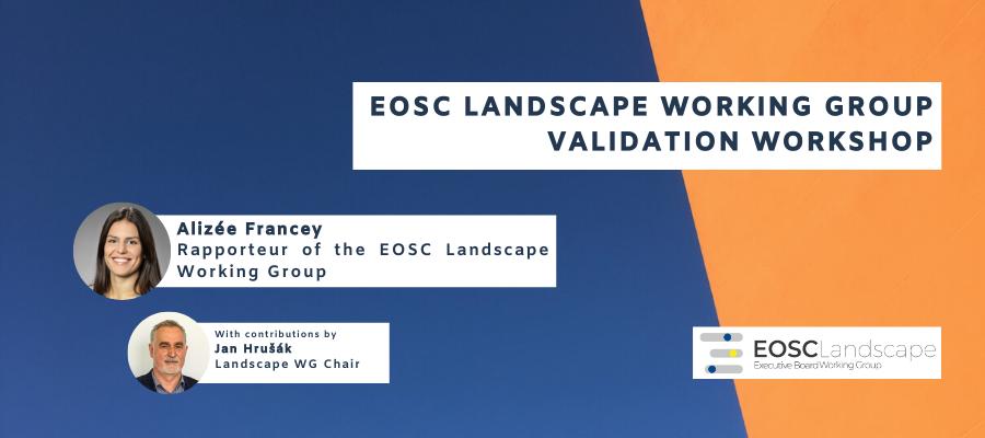 EOSC Landscape Working Group Validation Workshop