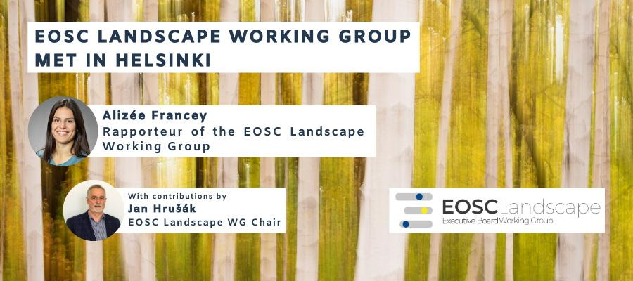 EOSC Landscape Working Group met in Helsinki