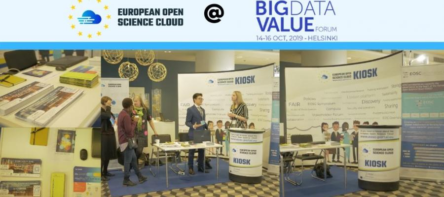 EOSC met Big Data at European Big Data Value Forum