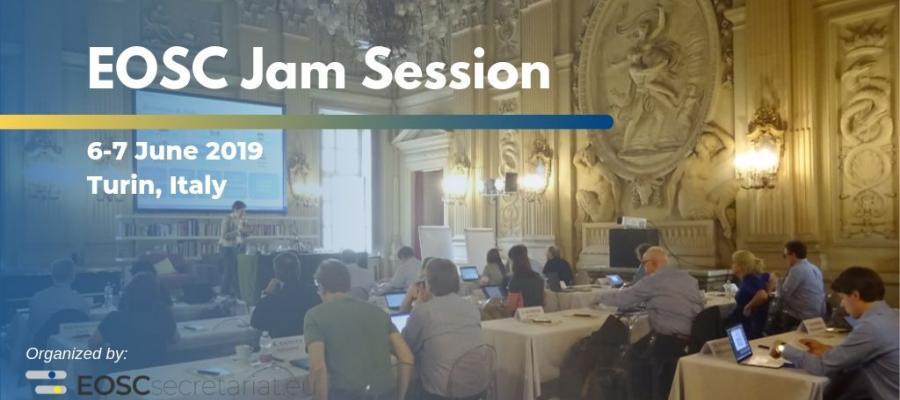 EOSC Jam Session in Turin, Italy