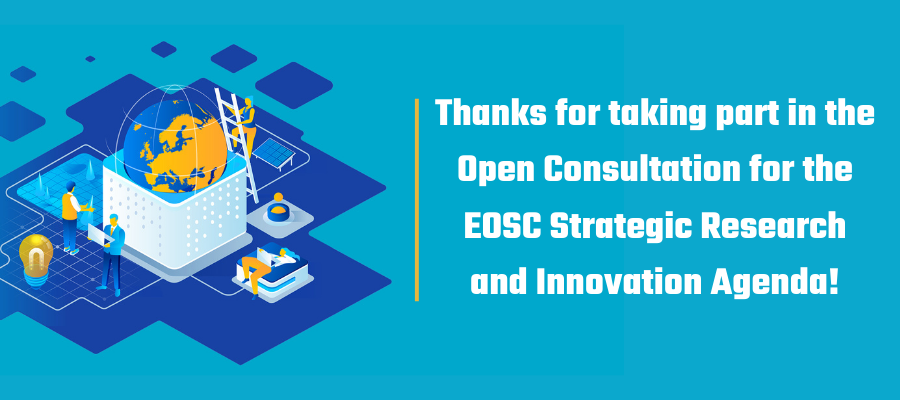 A recap of the open consultation for the EOSC Strategic Research and Innovation Agenda
