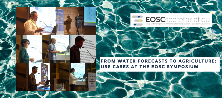 From Water Forecasts to Agriculture: EOSC Use Cases
