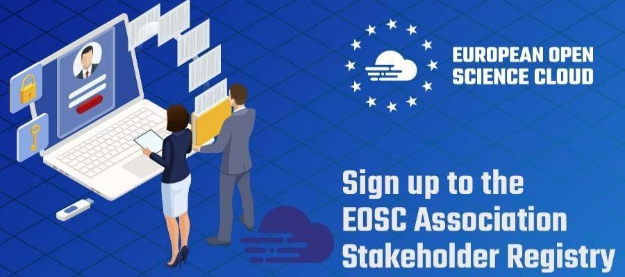 Join the EOSC Association stakeholder registry