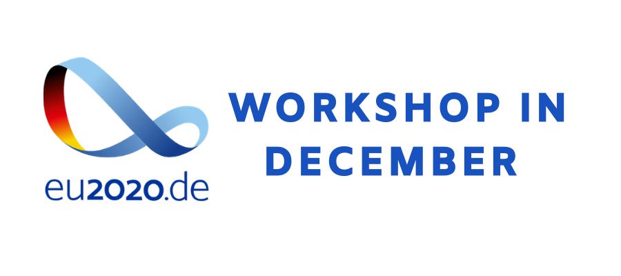 e-IRG Workshop in December