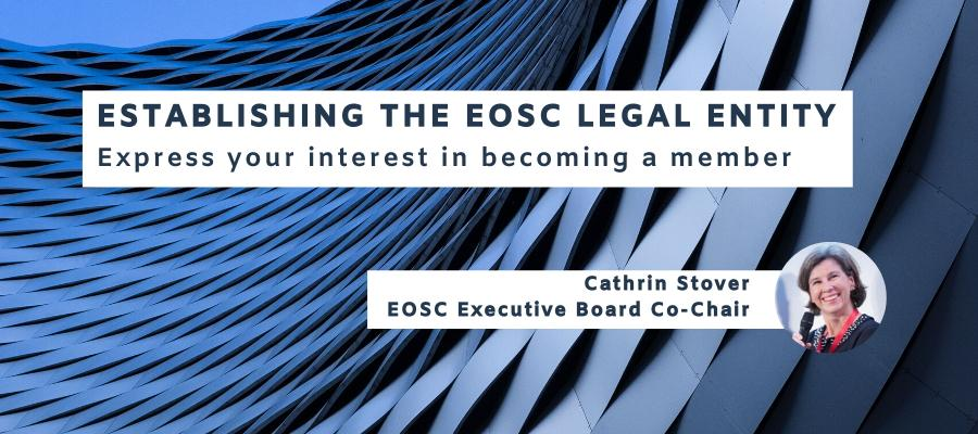 Establishing the EOSC Legal Entity