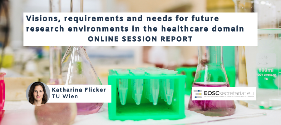 "Online session ""Visions, requirements and needs for Future Research Environments in the Healthcare domain"""