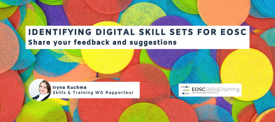 Identifying digital skill sets for EOSC