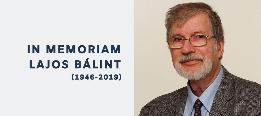 In Memoriam Lajos Bálint