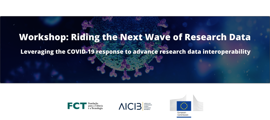 """Workshop """"Riding the Next Wave of Research Data: Leveraging the COVID-19 response towards advancing data interoperability"""""""