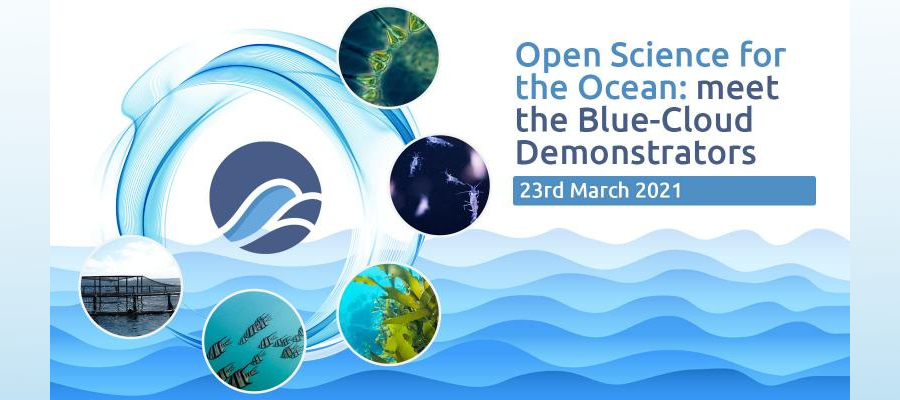 Open Science for the Ocean: Meet the Blue-Cloud Demonstrators