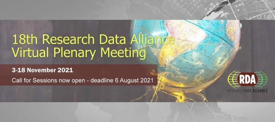 RDA 18th Plenary Meeting - Virtual