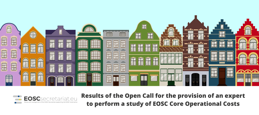 Results of the Open Call for an expert to perform a study of EOSC-core operational costs