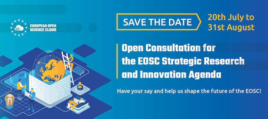 Open consultation on the priorities of the Strategic Research and Innovation Agenda to begin 20th July